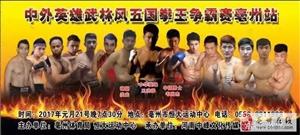 2017年1月21日中外英雄五国拳王争霸赛