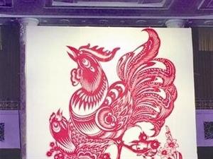 信阳艺术家剪纸作品登上人民大会堂