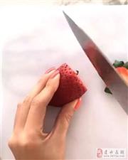 春节必学新技能:把水果制作成玫瑰花