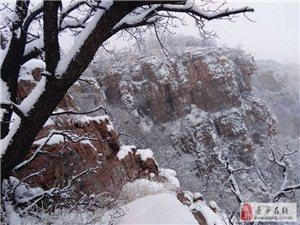 遂平红石崖雪韵