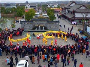 古堰景区进入春节客流高峰 三天接待游客近五万人次