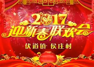 2017汤阴伏道镇侯庄村春晚视频