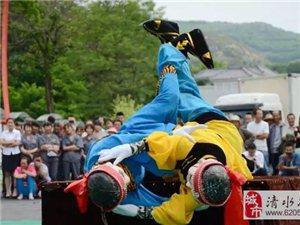 """精彩不容错过!清水过年必演的民俗文化活动""""木人摔跤"""",你知多少..."""