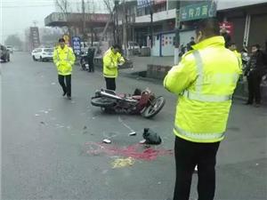 二级路堤村段发生车祸,一鲜活的生命瞬间消失!