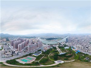 360度航拍揭西全景,另一种摄影方式