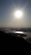只为分享,夕阳西下,黄河之美!