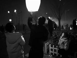 【随手拍】元宵节!木兰文化广场和两河口街景.....