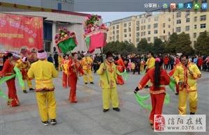 潢川县举办民间民俗文艺展演欢庆新春