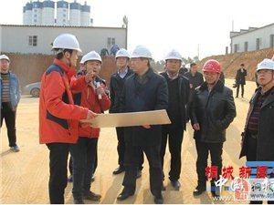 合安高铁(安庆段)建设调度推进会在桐召开
