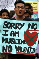 """巴基斯坦禁止在伊斯兰堡市公共场合公开庆祝情人节,""""不符合伊斯兰传统"""""""