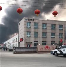龙8国际娱乐中心正宇集团厂区突发火灾