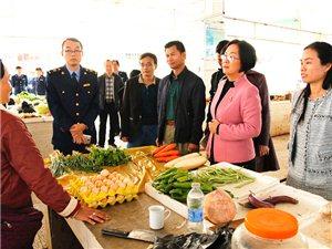 """张蔚兰:加强农贸市场环境整治升级改造 助力白沙""""双建"""""""