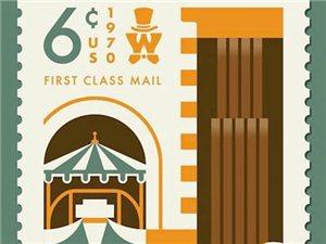 电影海报以怀旧风格的彩色插画形式进行再创作变成了邮票,你能认出几部?