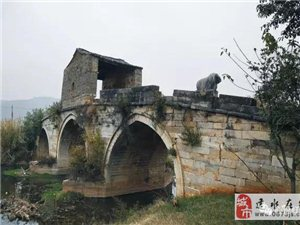 建水这座200年的小桥,一看就很乡愁有木有?