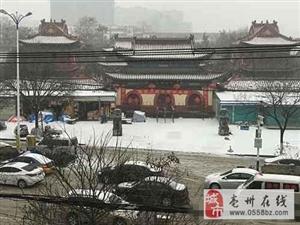昨日亳州再降春雪 昨日亳州再降春雪