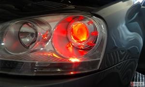 靓车坊汽车灯光改装氙灯   透镜     泪眼