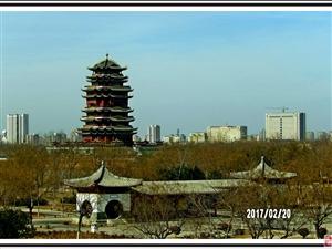 山东滨州黄河楼