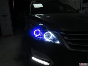 周口专业改灯-宝骏560四天使眼的炫酷!