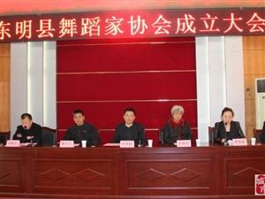 东明县舞蹈家协会正式成立