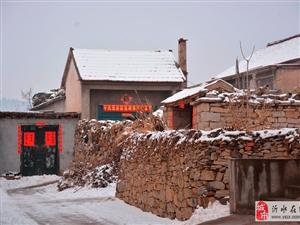 雪后的柳泉村