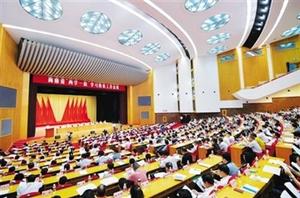 """海南召开持续推进""""两学一做""""学习教育电视电话会议"""