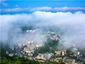 驚呆了,最美咸豐縣城全景應該是這樣的!