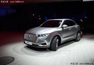 2017年宝沃新车计划包含BX6/BX7EV等