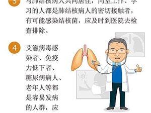 �Y核病防治核心信息及知�R要�c