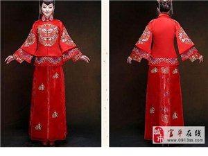 富平米兰婚纱现在做中国新娘99套《秀禾服》免费领取活动!