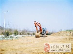 信阳东站旅客换乘中心建设加快推进