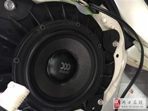 【山西太原朗声】丰田普拉多汽车音响改装摩雷优特声603 三分频套装