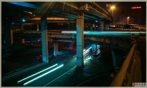 手机摄影(凌晨3点海口南大桥)