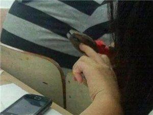 女汉子,就是剪个指甲也是这样与众不同
