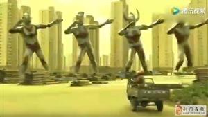当奥特曼开始跳广场舞 《痒》那一段太骚了