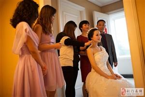 美丽的新娘要嫁人了