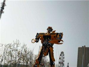 大临西惊现汽?#31561;?#22823;黄蜂!高达13米,首家儿童主题乐园开业在即!