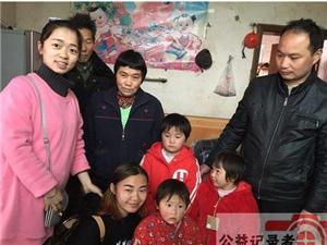 宁乡县资福中心幼儿园开展送温暖慰问活动