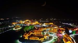 水釜城之夜 夜色烂漫灯火阑珊