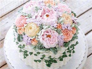 哪��女孩子不喜�g�r花蛋糕呢?