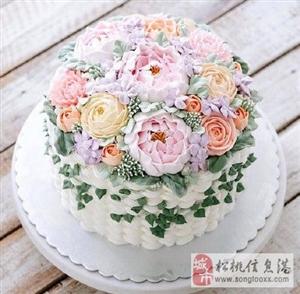 哪个女孩子不喜欢鲜花蛋糕呢?