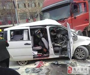 澳门银河官网柘城县皮革厂南环路附近,就发生一起严重车祸,生死不明!