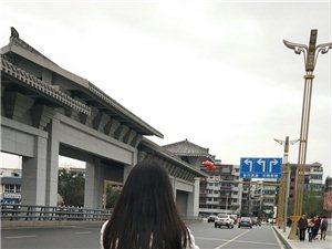 摩拜单车伴我逍遥游~~~和女儿骑着摩拜单车,悠哉优哉游广汉(图片)