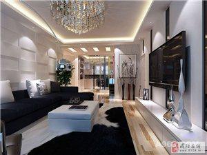 147平现代简约三居室|装修效果图|大秦御港城