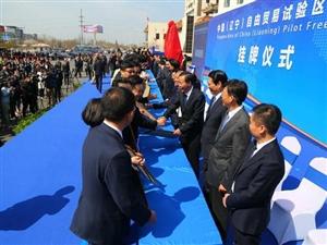 辽宁营口自贸区正式挂牌113家企业集中签约
