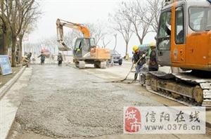 �哿ν�心拔头筹――写在中心城区供水主干管改扩建(滨河南路)工程完工之际