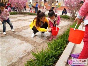 """瓜州县渊泉第一幼儿园""""植树节""""社会实践活动"""