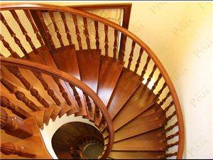 品家楼梯 实木楼梯 别墅家庭楼梯