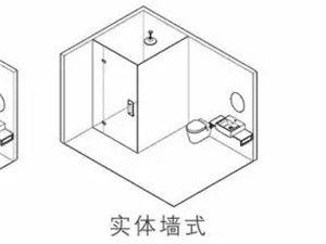 小卫生间干湿分区