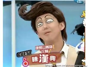 OMG!他居然比林志玲的身材更有料!