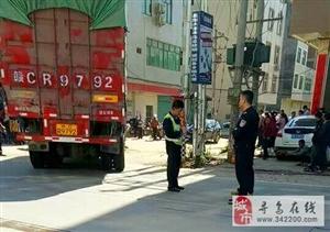 寻乌澄江206国道水源路口发生车祸,安全出行,车祸猛于虎!